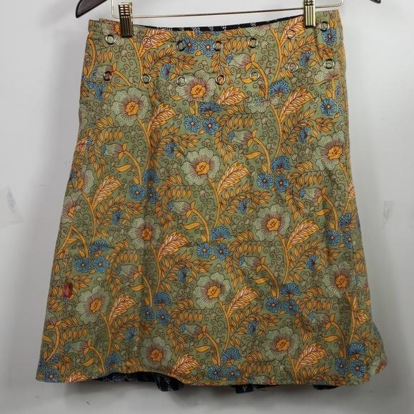 lingam Dresses & Skirts - Lingam NWT Faldilla reversible Camaleon free size